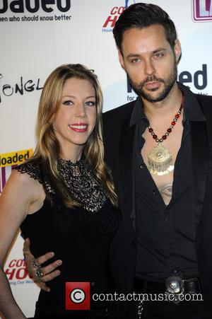 Katherine Ryan and Jeff Leach - The Loaded Laftas Comedy Awards 2013 held at Sway Bar - London, United Kingdom...