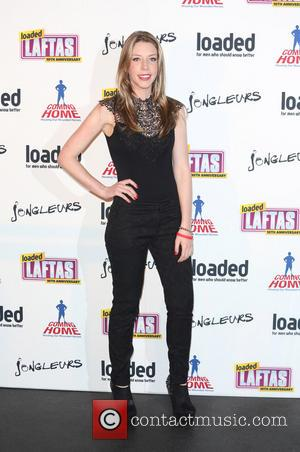 Katherine Ryan and boyfriend - The Loaded LAFTAs Awards 2013 10th Anniversary held at Sway - London, United Kingdom -...