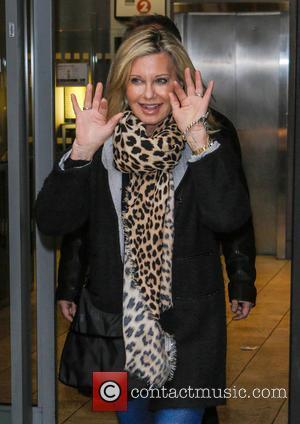 Olivia Newton John - Celebrities at the Radio 2 studios - London, United Kingdom - Thursday 7th March 2013