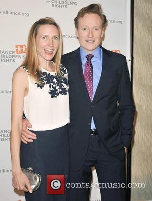 Conan O'Brien and Liza Powel - The Alliance For Children's Rights' 21st Annual Dinner at The Beverly Hilton Hotel -...