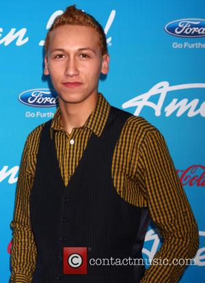 Devin Velez - FOX 'American Idol' finalists party at The Grove - Los Angeles, California, United States - Thursday 7th...