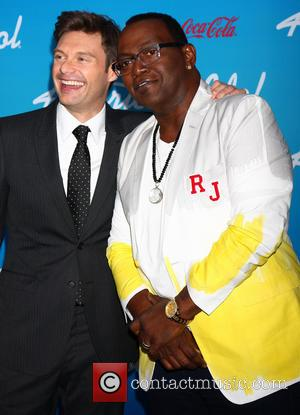 Ryan Seacrest and Randy Jackson
