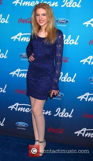 Saxon Sharbino - FOX 'American Idol' finalists party at The Grove - Los Angeles, California, United States - Thursday 7th...