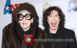 Elaine Stritch and Lily Tomlin - ANN Opening night at the Vivian Beaumont Theatre - Arrivals - New York, NY,...