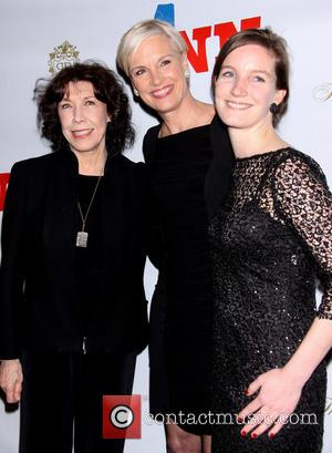 Lily Tomlin, Cecile Richards and Lily Adams