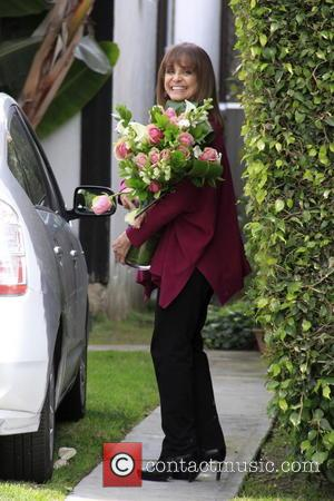 Valerie Harper - Veteran TV actress Valerie Harper who has recently been diagnosed with terminal brain cancer arrives at her...