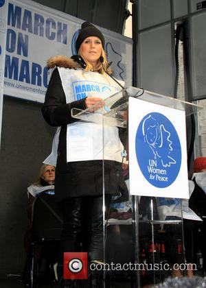 Alexandra Richards - '1st Annual UN Women For Peace March' at Dag Hammarskjold Plaza - New York City, NY, United...
