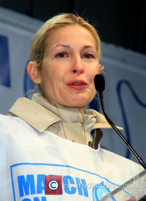Kelly Rutherford - '1st Annual UN Women For Peace March' at Dag Hammarskjold Plaza - New York City, NY, United...