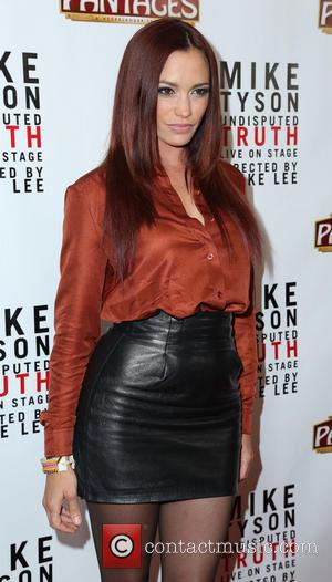 Jessica Sutta - The Los Angeles opening night of 'Mike Tyson - Undisputed Truth' at the Pantages Theatre - Los...