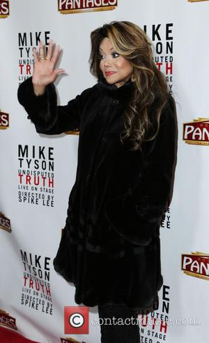 LaToya Jackson - The Los Angeles opening night of 'Mike Tyson - Undisputed Truth' at the Pantages Theatre - Los...