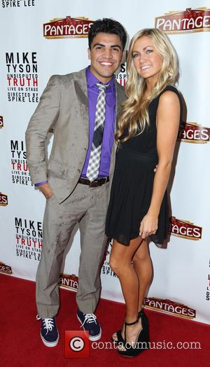 Victor Ortiz and Lindsay Arnold - The Los Angeles opening night of 'Mike Tyson - Undisputed Truth' at the Pantages...