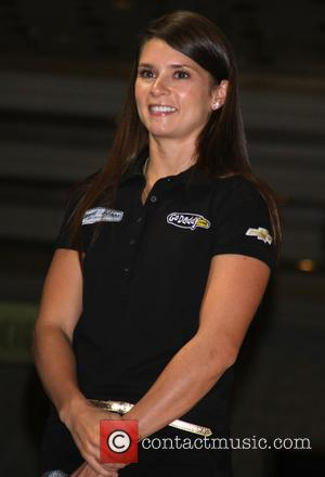 Danica Patrick - Danica Patrick and Tony Stewart meet and greet fans at the MGM Grand Hotel - Las Vegas,...