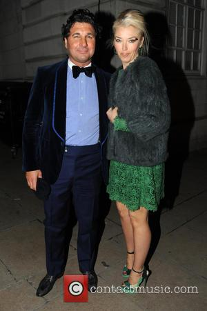 Tamara Beckwith and Giorgio Veroni - Celebrities leave Loulou's nightclub - London, United Kingdom - Saturday 9th March 2013