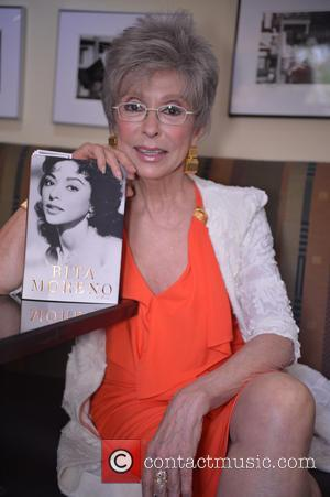 Rita Moreno - Book signing and reading for  'Rita Moreno: A Memoir' at Books and Books - Coral Gales,...