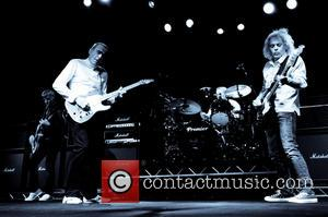 Francis Rossi and Alan Lancaster - The original band line up of Status Quo reformed for the first time in...