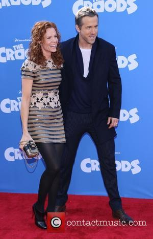Robyn Lively and Ryan Reynolds