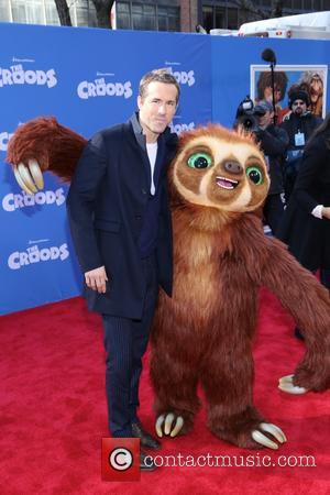 Ryan Reynolds - 'The Croods' premiere at AMC Loews Lincoln Square 13 - Arrivals - New York, New York, United...