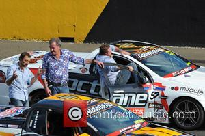 Jeremy Clarkson and Shane Jacobson