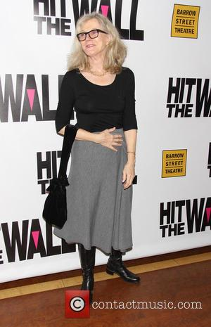 Blythe Danner - The premiere of 'Hit The Wall', held at the Barrow Street Theatre - New York City, United...