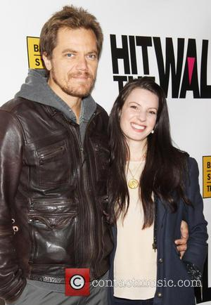 Michael Shannon and Kate Arrington - The premiere of 'Hit The Wall', held at the Barrow Street Theatre - New...