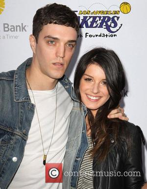 Josh Beech and Shenae Grimes - Lakers casino night fundraiser benefiting the Lakers Youth Foundation at Club Nokia - Arrivals...