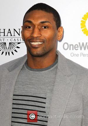 Metta World Peace - Lakers casino night fundraiser benefiting the Lakers Youth Foundation at Club Nokia - Arrivals - Los...