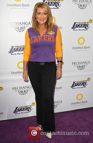 Wendy Burch - Lakers casino night fundraiser benefiting the Lakers Youth Foundation at Club Nokia - Arrivals - Los Angeles,...