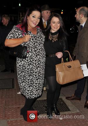 Lisa Riley and Dani Harmer - 'Burn The Floor' Press Night at the Shaftesbury Theatre - London, United Kingdom -...