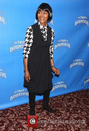 Cicely Tyson - 'Trip to Bountiful' Photocall at Sardi's restaurant - New York City, NY, United States - Monday 11th...