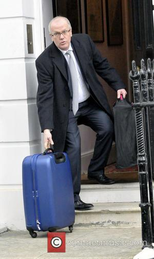 Robert Brown - Vicky Pryce leaves her London home to head to Southwark crown court to be sentenced alongside her...