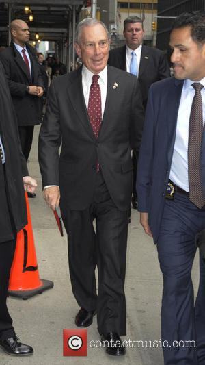 Michael Bloomberg - New York City Mayor Michael Bloomberg at the Ed Sullivan Theater for the 'Late Show With David...