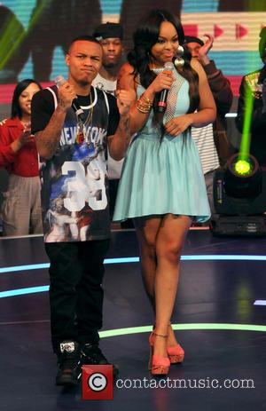 Bow Wow and Paigion - Celebrities appear on BET's 106 & Park - New York, United States - Monday 11th...