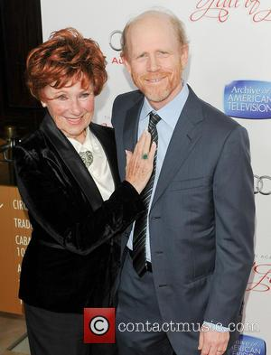 Marion Ross and Ron Howard