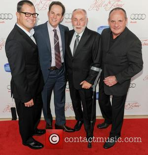 George Eads, David Berman, Robert David Hall and Paul Guilfoyle