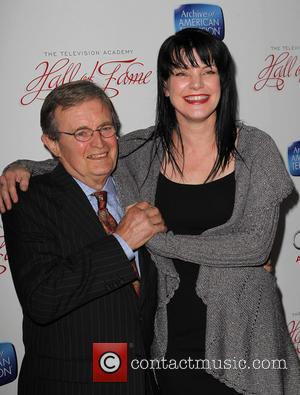 Pauley Perrette and David Mccallum