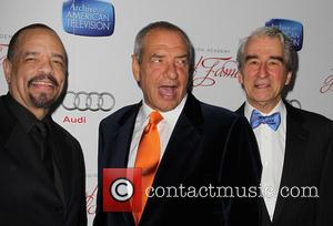 Ice-t, Sam Waterston and Dick Wolf