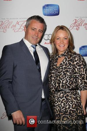 Matt LeBlanc and Andrea Anders - The Academy of Television Arts & Sciences' 22nd Annual Hall of Fame Induction Gala...