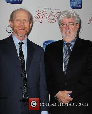 Ron Howard and George Lucas