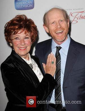 Ron Howard and Marion Ross