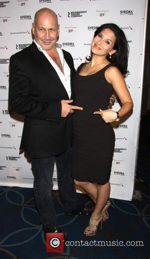 Carmen Marc Valvo and Hilaria Thomas Baldwin - Roundabout Theatre Company's Spring Gala held at the Hammerstein Ballroom - New...