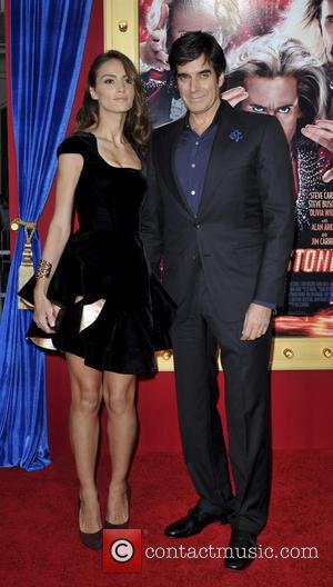Chloe Gasselin and David Copperfield