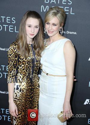 Taissa Farmiga and Vera Farmiga - The premiere of 'Bates Motel' at Soho House - Arrivals - Los Angeles, California,...