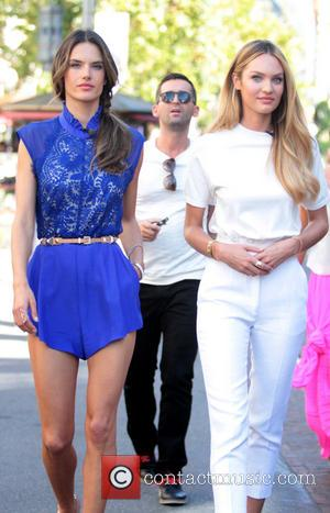Alessandra Ambrosio and Candice Swanepoel