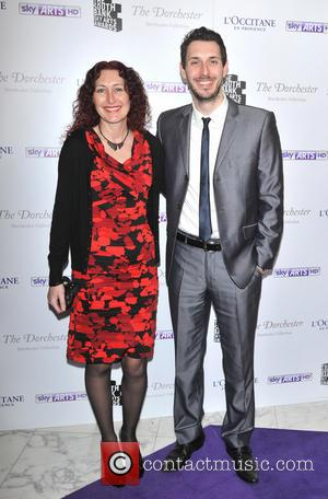 Blake Harrison and guest - South Bank Sky Arts Awards held at the Dorchester - Arrivals - London, United Kingdom...