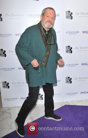 terry Gilliam - South Bank Sky Arts Awards held at the Dorchester - Arrivals. - London, United Kingdom - Tuesday...