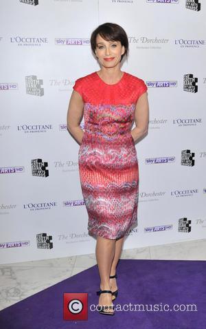 Kristin Scott Thomas - South Bank Sky Arts Awards held at the Dorchester - Arrivals - London, United Kingdom -...
