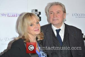 Twiggy and guest - South Bank Sky Arts Awards held at the Dorchester - Arrivals. - London, United Kingdom -...