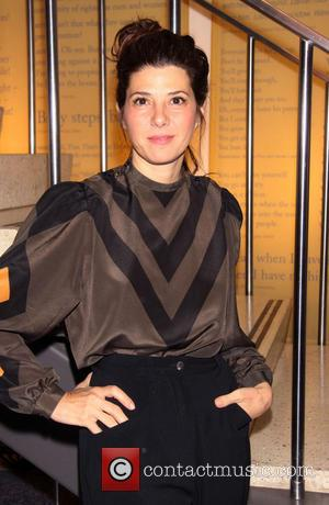 Marisa Tomei - World premiere of 'The Flick' at Playwrights Horizons' Mainstage Theater-Arrivals - New York City, New York ,...