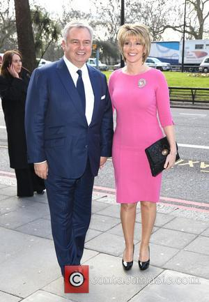 Ruth Langsford and Eamonn Holmes - The TRIC Awards 2013 held at the Grosvenor House Hotel - Arrivals - London,...