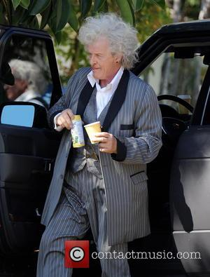 Rutger Hauer - Actors on the set of 'True Blood' - Los Angeles, CA, United States - Tuesday 12th March...